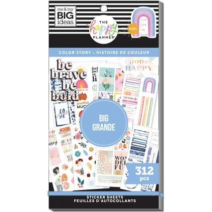 BIG Color Story - Value Pack Stickers