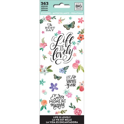 Life Is Lovely - Petite Sticker Sheets