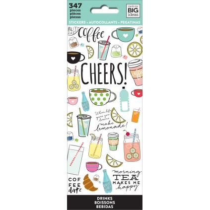 Drinks - Petite Sticker Sheets