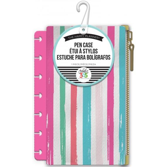 Multi Stripe Pink - Mini Pouch
