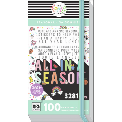 All In A Season - Mega Value Pack Stickers