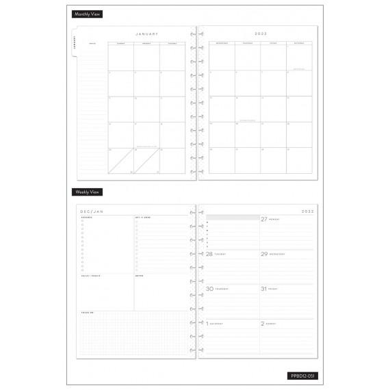Keep Growing - BIG Happy Planner - Dashboard - 12 months