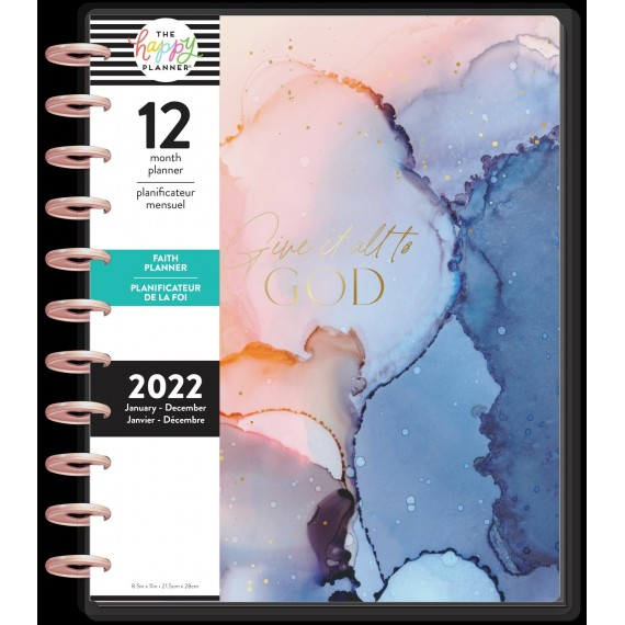 Give it to God - BIG Happy Planner - Faith - 12 months