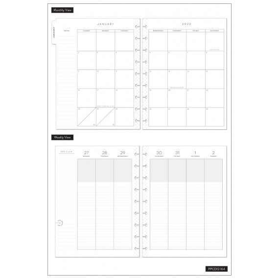 Everyday - Spoonful of Faith - Classic Happy Planner - Lined vertical - 12 months