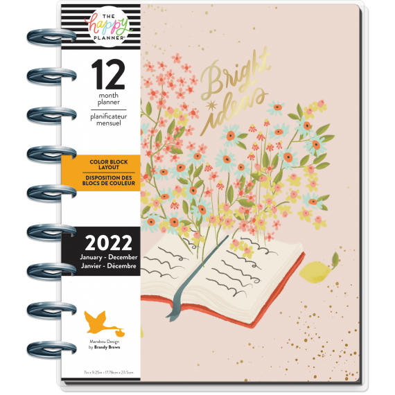 Bright Ideas - Classic Happy Planner - Colorblock - 12 months