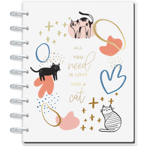 Modern Meow - Classic Happy Planner - Vertical - 12 month