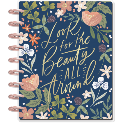 Beauty All Around - Classic Happy Planner - Dashboard - 12 month