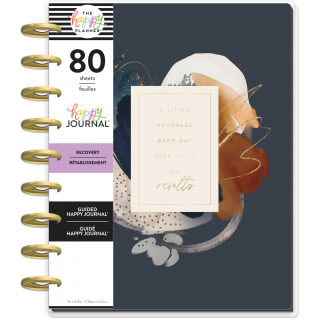 Abstract Watercolor - Classic - Recovery Guided Journal