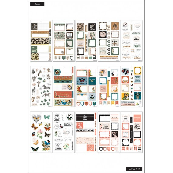 Color Story Mini - Sticker Value Pack