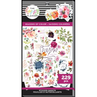 Seasonal Floral Classic - Sticker Value Pack