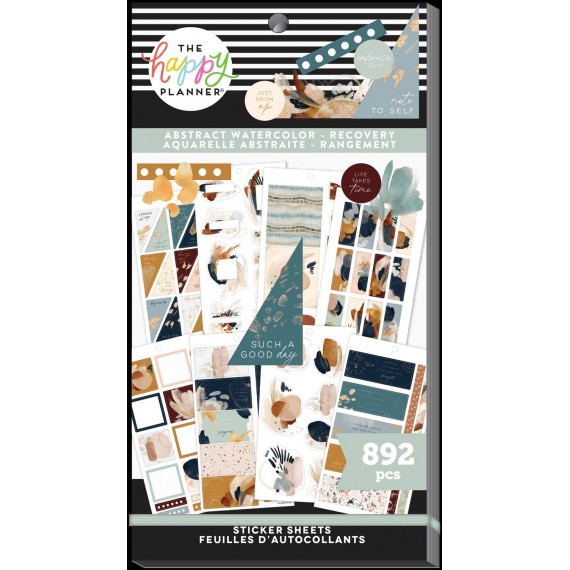 Abstract Watercolor Recovery - Sticker Value Pack