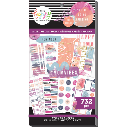Enjoy The Little Things - Mixed Media Mom - Sticker Value Pack