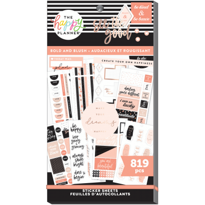 Bold and Blush - Sticker Value Pack