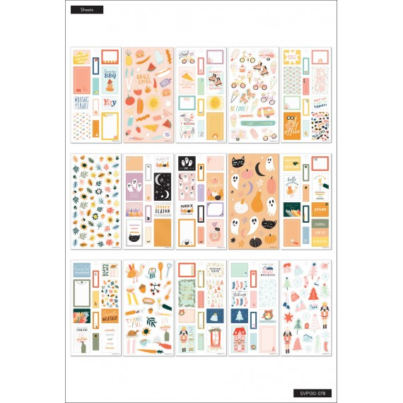 Happy Seasons - Sticker Value Pack
