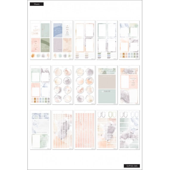 Neutral Watercolors BIG - Sticker Value Pack