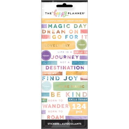 Colorful Desert - 8 Sticker Sheets