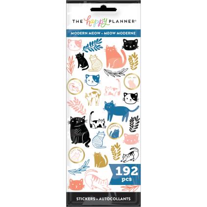 Modern Meow - 8 Sticker Sheets