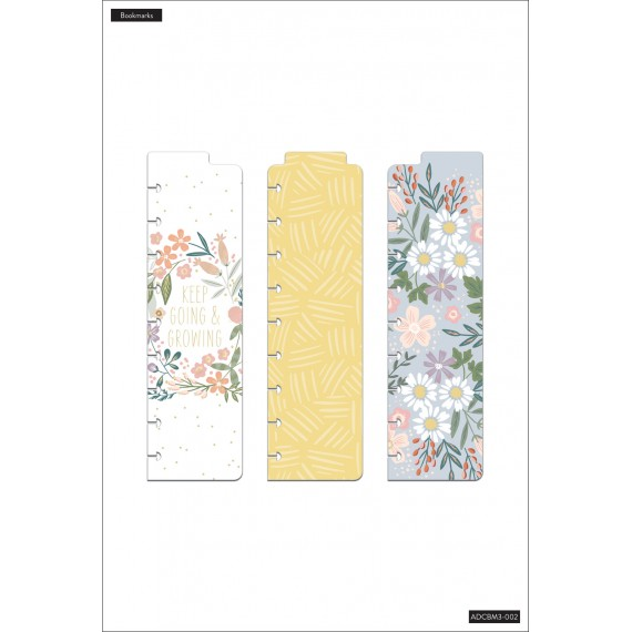 Florals - Classic Bookmarks - 3 pack