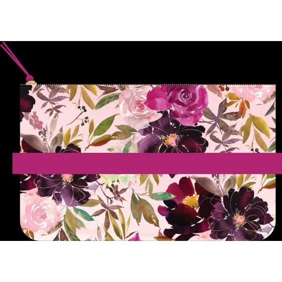 Seasonal Watercolor - Pouch With Pen Loop