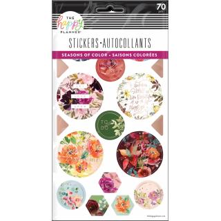 Seasonal Watercolor - 5 Sticker Sheets
