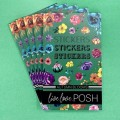 Autumn Blooms Stickerbook - Live Love Posh