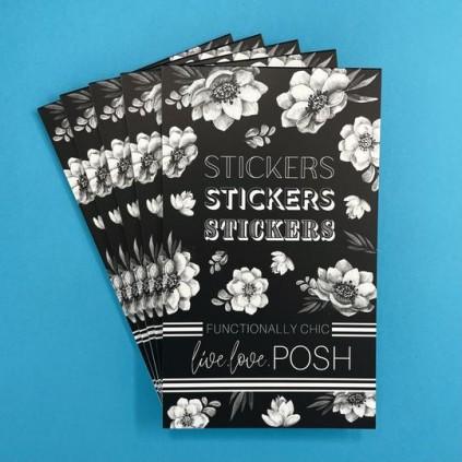 Functionally Chic Stickerbook - Live Love Posh