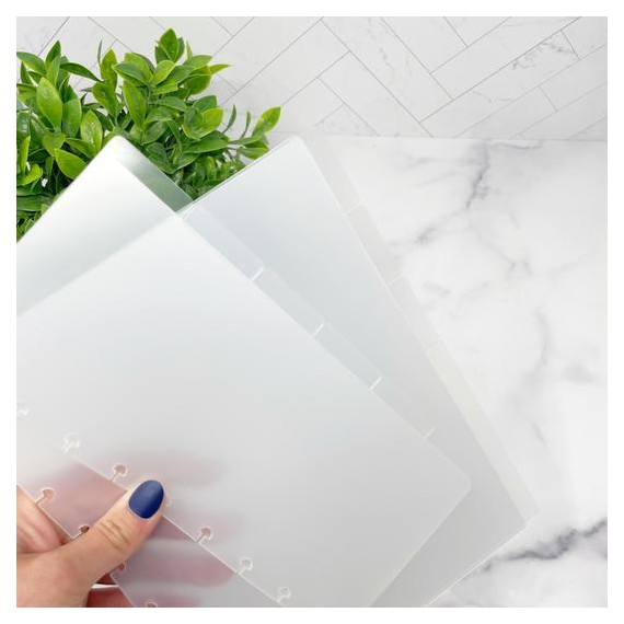 Luxe Divider Set With Labels - Classic Half Sheet - Live Love Posh