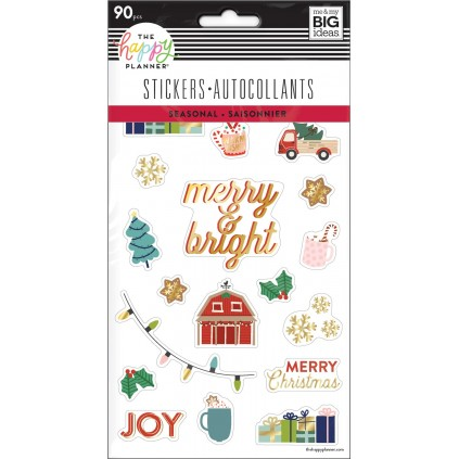 Christmas - 5 Sticker Sheets