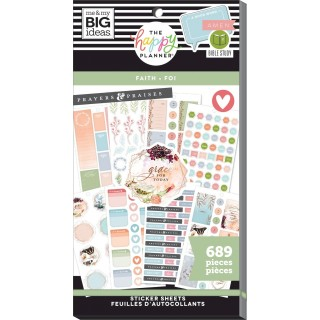 Faith Be Still - Value Pack Stickers