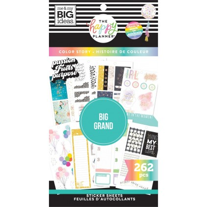 Colorful Boxes - BIG - Value Pack Stickers