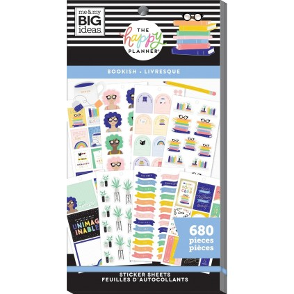 Bookish - Value Pack Stickers