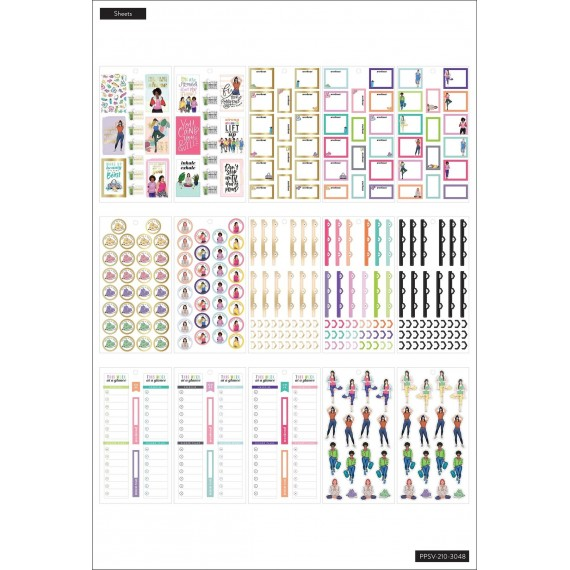 Rongrong - Fitness - Value Pack Stickers