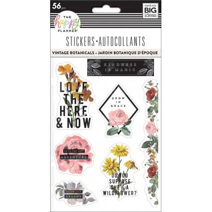 Vintage Botanical - Sticker Sheets