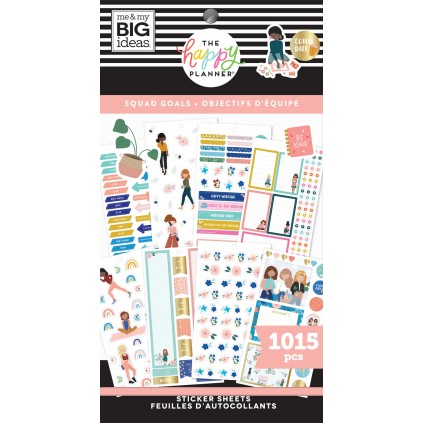 Squad Goals - Value Pack Stickers