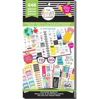 Teachers Rule BIG - Value Pack Stickers