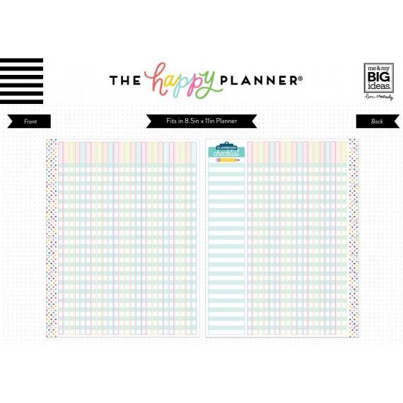BIG Note Paper - Teacher Checklist