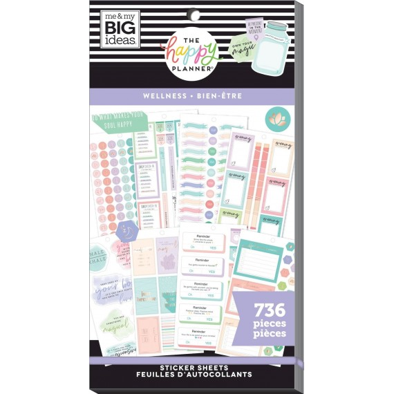 Wellness - Value Pack Stickers